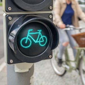 cycliste urbain remis en selle