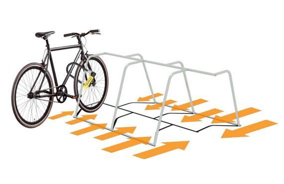 comment attacher correctement son vélo avec un antivol sur un rack Mobile