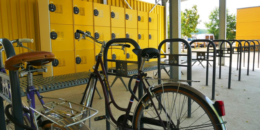Halte pour les touristes à vélos de Nevers