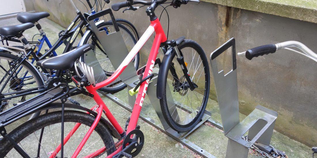 racks vélos ALTAO Parco dans une copropriété parisienne