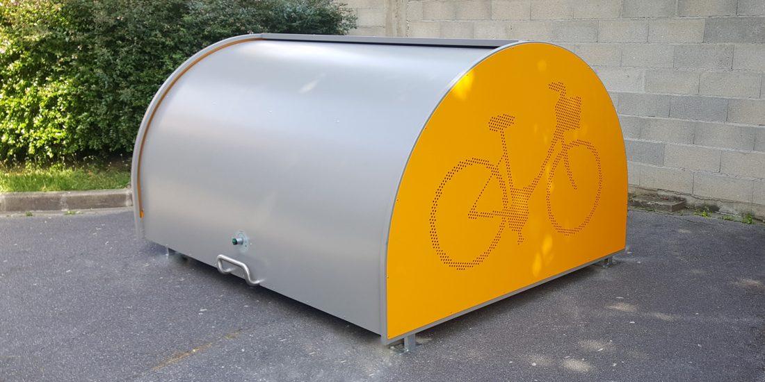 box vélo ALTAO Cover installé dans un hopital