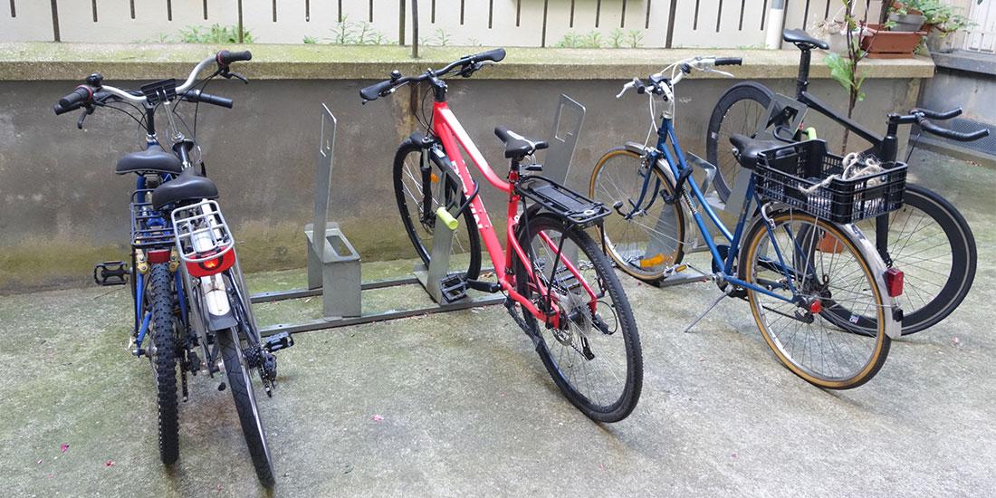 parking vélo dans une copropriété à Paris