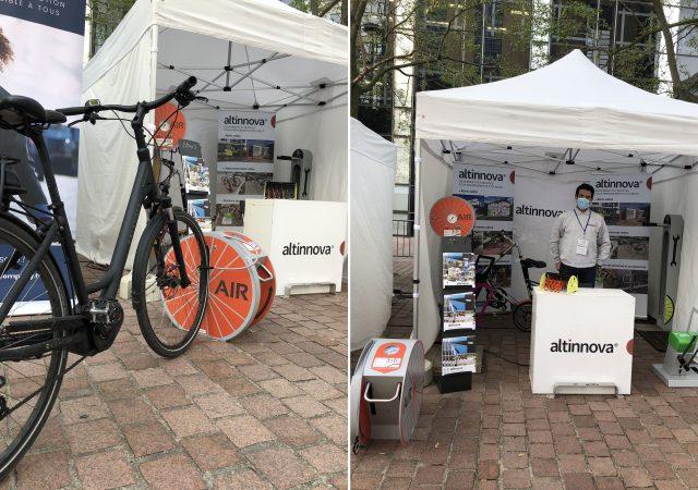 exemples de solutions pour favoriser la mobilité et l'usage du vélo présenté à #BikeToWork