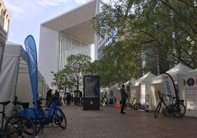 événement mobilité à Paris la Défense