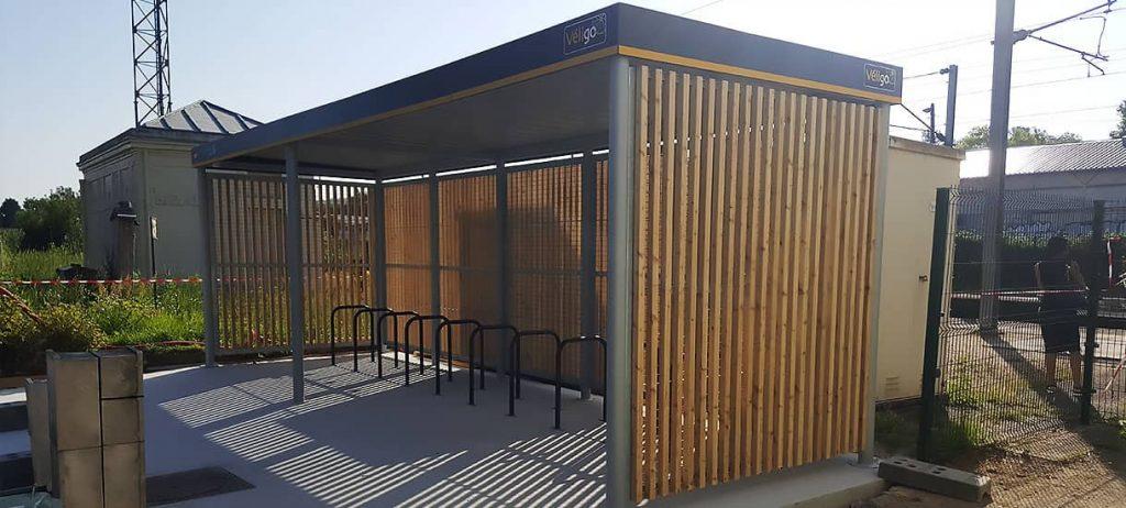 parking vélo abrité ALTAO® Open