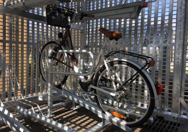 consigne vélo sécurisée et innovante en gare