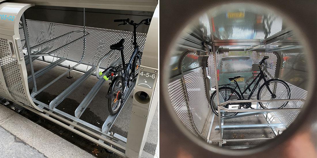 abri vélo sécurisé de Paris