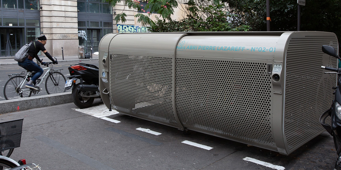 parking vélo sécurisé de Paris