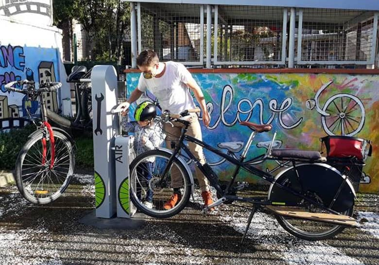 halte de services vélo