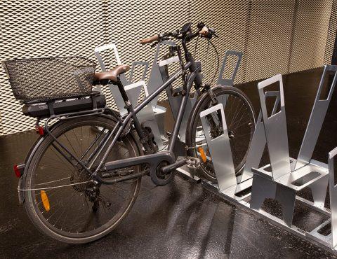 racks de stationnement vélos ALTAO Parco de la vélostation de la gare Montparnasse