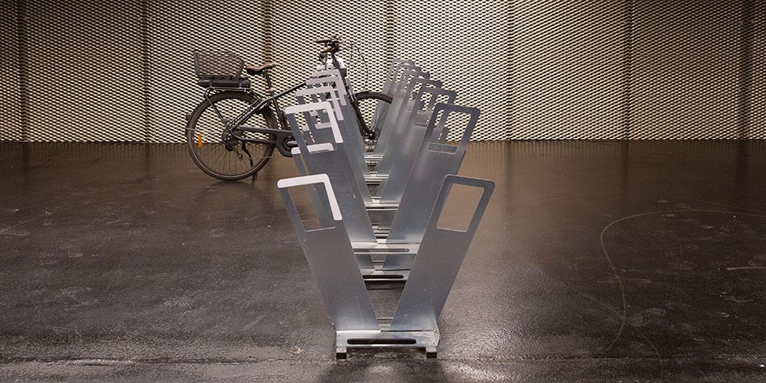 racks de stationnement vélos en gare ALTAO Parco bilatéraux