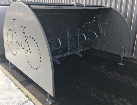 Vélobox de Bordeaux ouvert