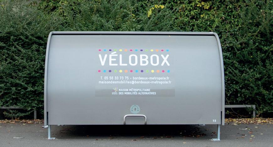 Nouveau Velobox à Bordeaux