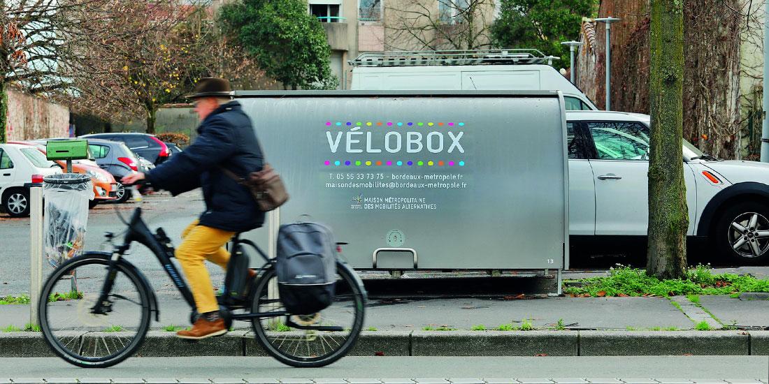 Nouveau Velobox installé à Talence