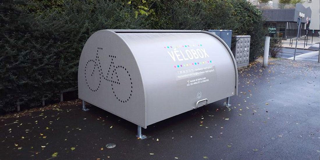 abri vélo sécurisé de Bordeaux