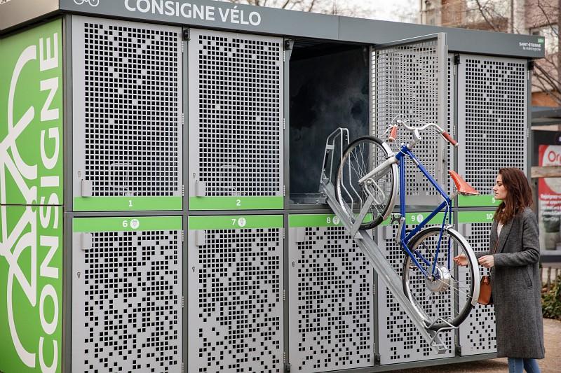 parking vélo sécurisé stéphanois