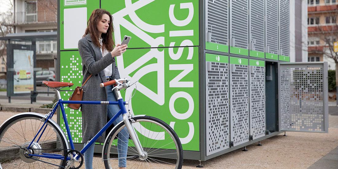 abris vélos sécurités de Saint-Etienne