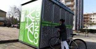 Des consignes pour garer son vélo en toute sécurité à Saint-Etienne