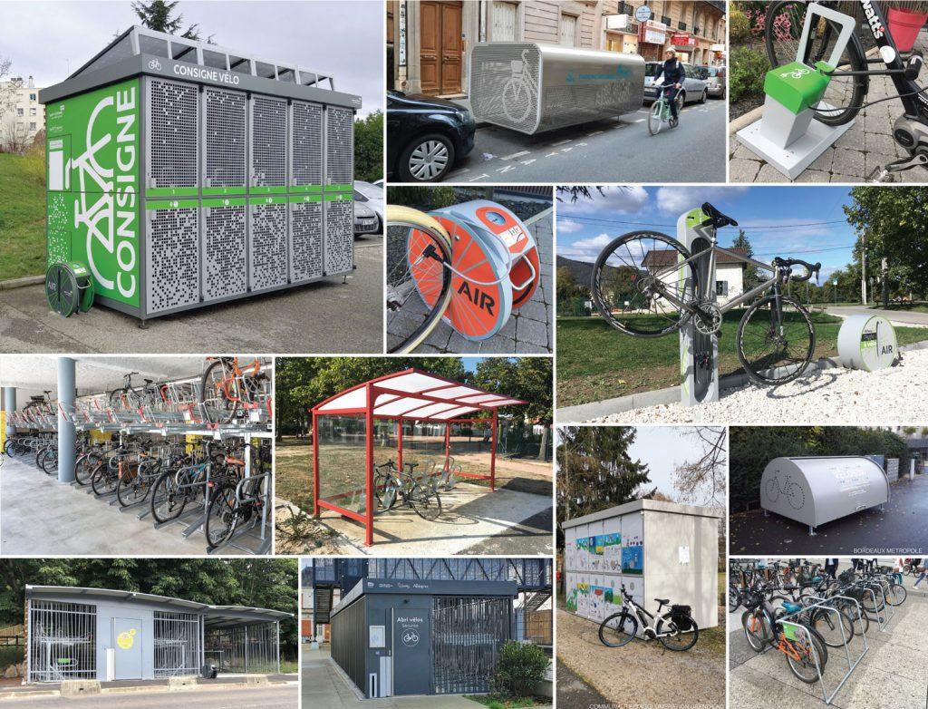 exemple d'équipements pour vélos d'Altinnova