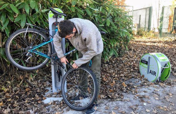 totem de réparation vélo ALTAO Fix