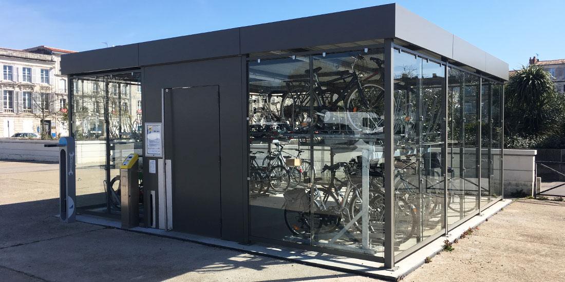 stationnement vélo urbain