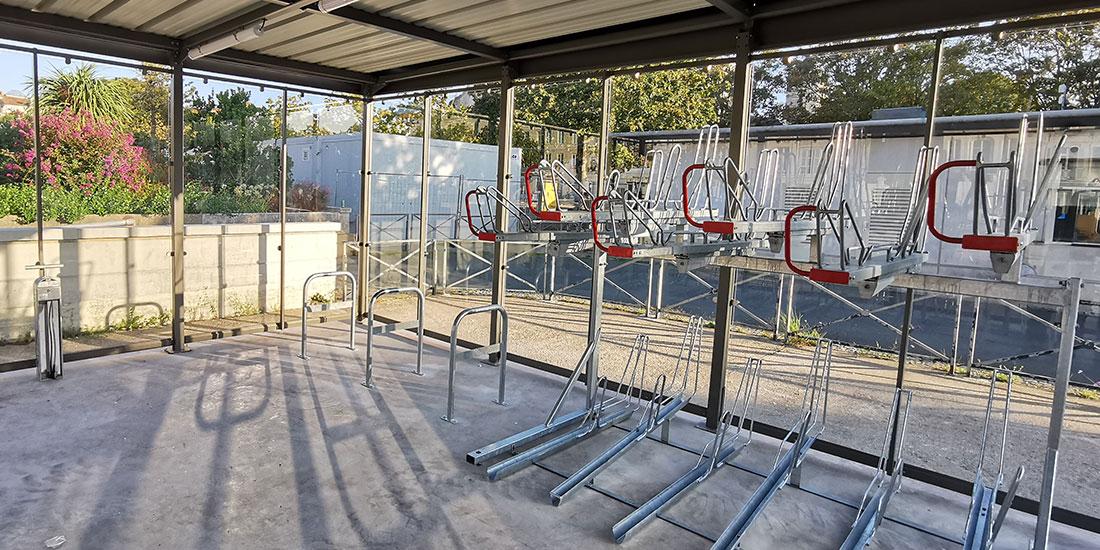 racks et arceaux de stationnement vélo