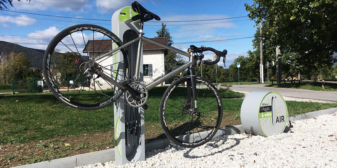 station de services pour les vélos