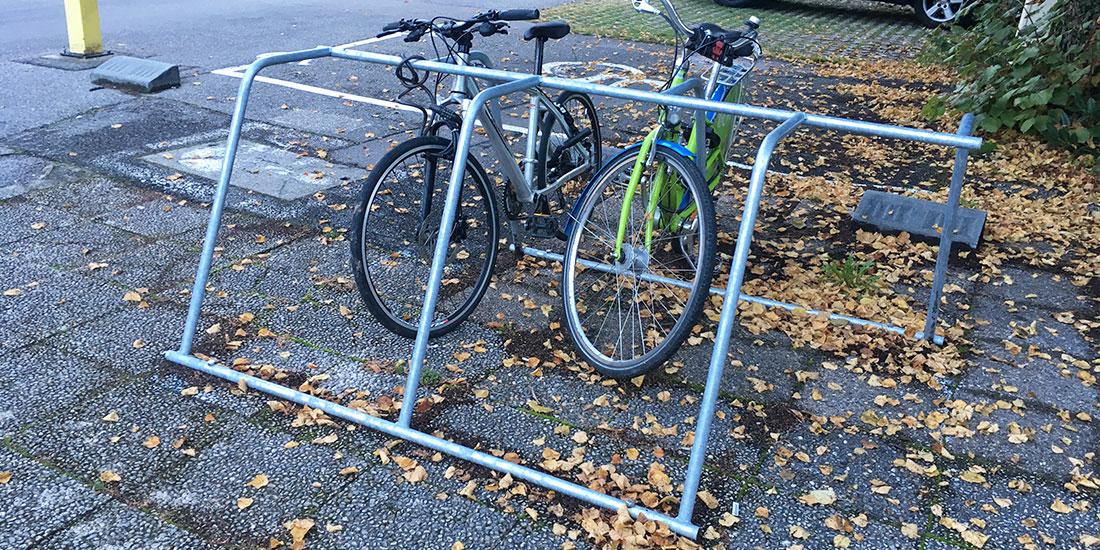 parking vélo urbain