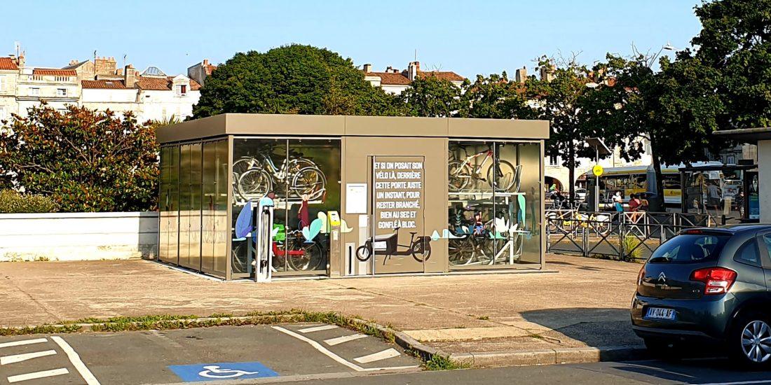 abri vélo sécurisé de La Rochelle