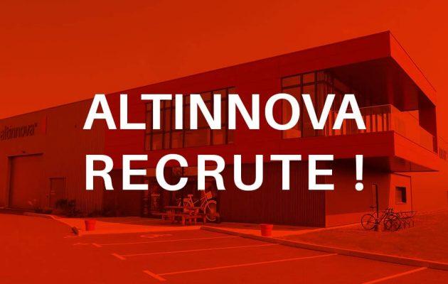 Altinnova recrute !