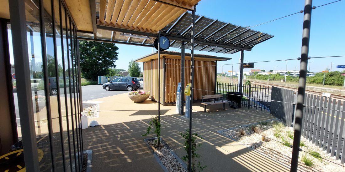 Nouvelle Halte Eco Durable en gare SNCF