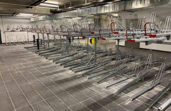 racks de stationnement Optima V10 du parking LPA Saint Antoine