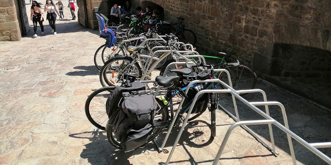 parking vélo éphémère