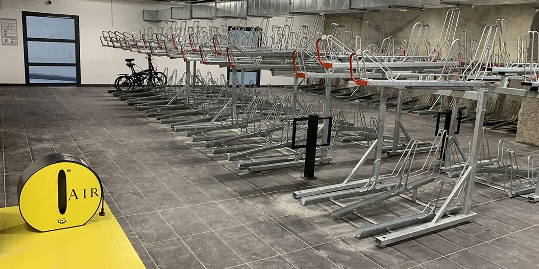 espace vélo sécurisé LPA Saint Antoine