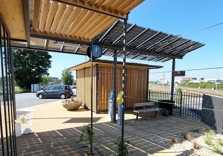 halte éco durable en gare SNCF