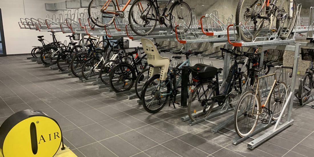parking vélo LPA St Antoine