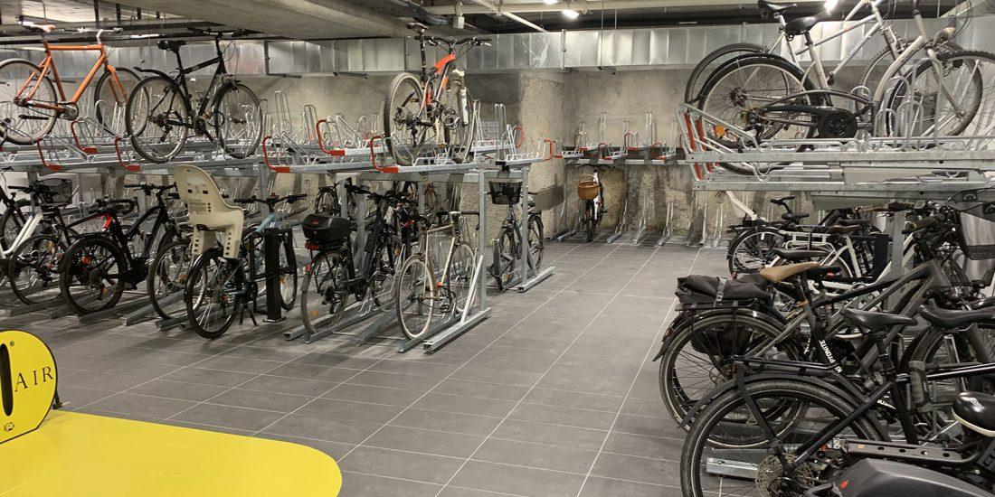 stationnement vélo sécurisé à Lyon