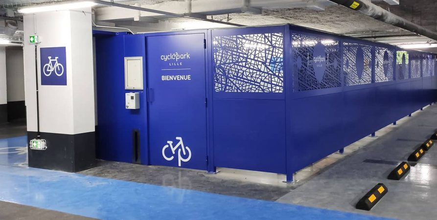 Cyclopark de Lille réalisé et sécurisé par Altinnova