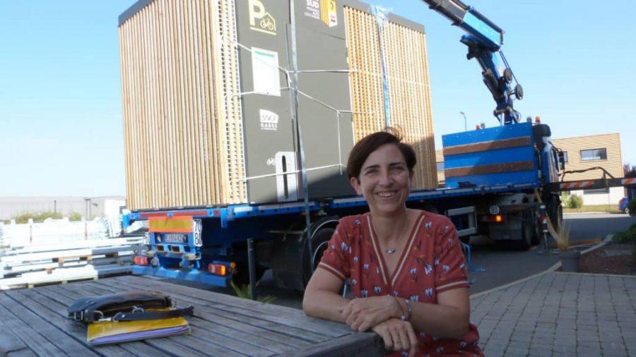 portrait de Corinne Verdie, présidente et cofondatrice d'Altinnova